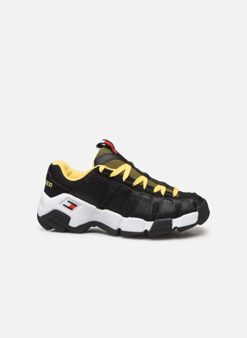 Sneakers Tommy Hilfiger HERITAGE CHUNKY SNEAKER Zwart achterkant