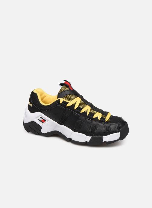 Sneakers Tommy Hilfiger HERITAGE CHUNKY SNEAKER Sort detaljeret billede af skoene