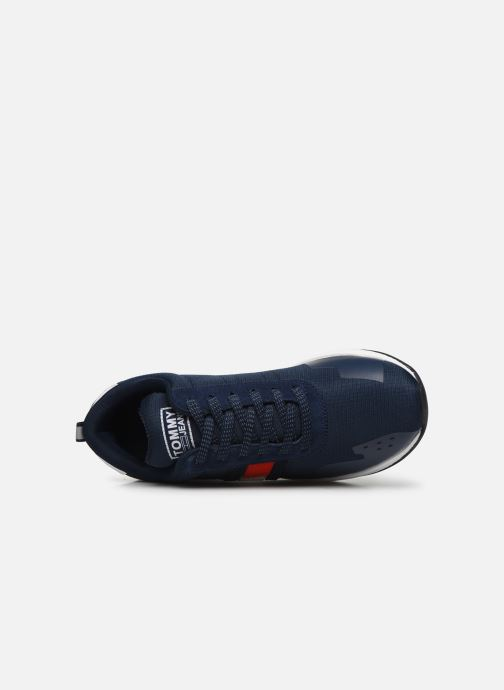 Sneakers Tommy Hilfiger FLAG FLEXI TOMMY JEANS SNEAKER Blauw links