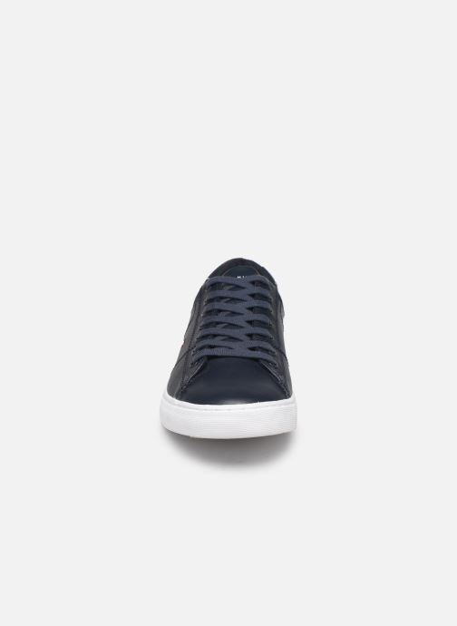Sneakers Tommy Hilfiger ESSENTIAL LEATHER COLLAR VULC Zwart model