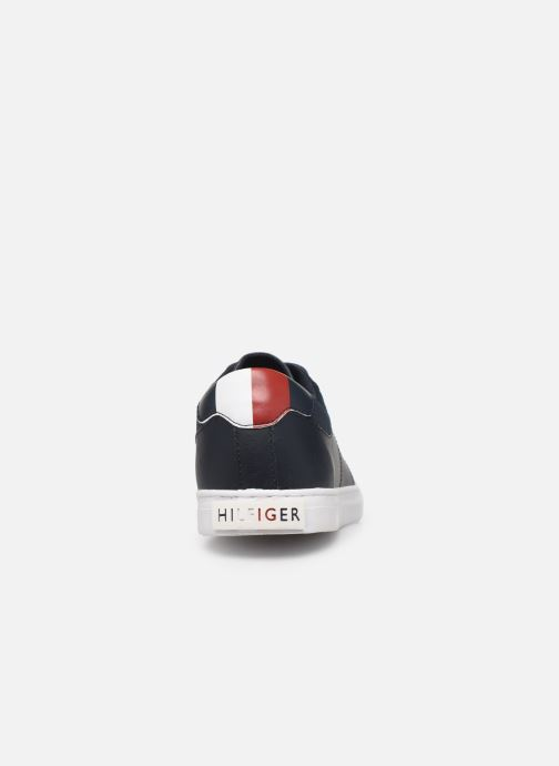 Sneakers Tommy Hilfiger ESSENTIAL LEATHER COLLAR VULC Zwart rechts