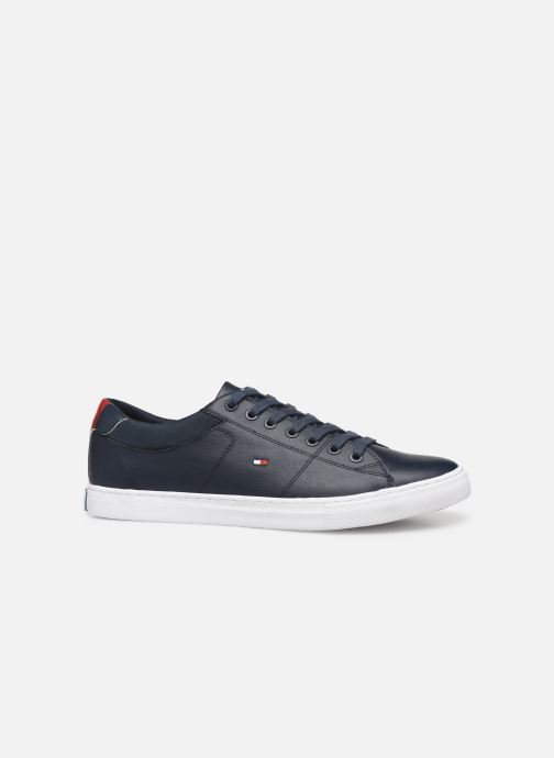 Baskets Tommy Hilfiger ESSENTIAL LEATHER COLLAR VULC Noir vue derrière