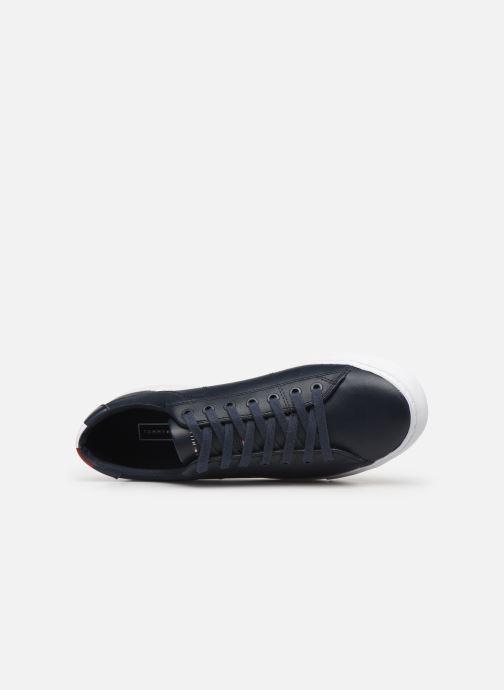 Sneakers Tommy Hilfiger ESSENTIAL LEATHER COLLAR VULC Sort se fra venstre