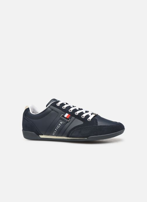 Deportivas Tommy Hilfiger CORPORATE MATERIAL MIX CUPSOLE Azul vistra trasera