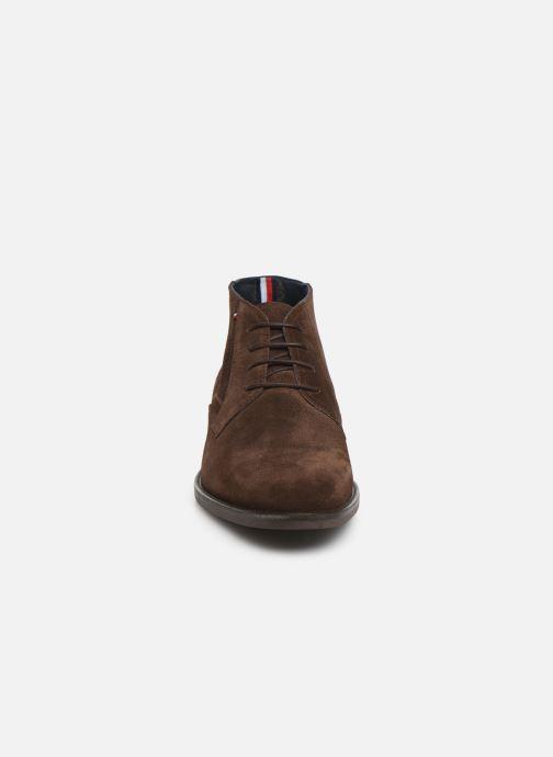 Boots en enkellaarsjes Tommy Hilfiger SIGNATURE HILFIGER SUEDE BOOT Bruin model