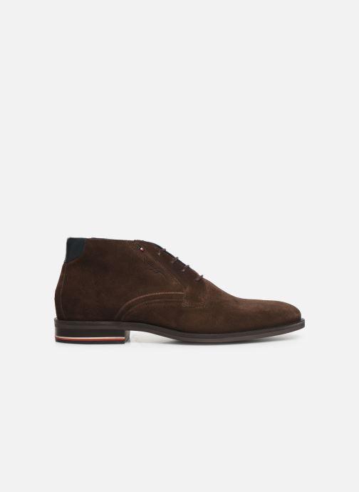 Boots en enkellaarsjes Tommy Hilfiger SIGNATURE HILFIGER SUEDE BOOT Bruin achterkant
