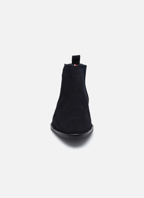 Boots en enkellaarsjes Tommy Hilfiger SIGNATURE HILFIGER SUEDE CHELSEA Blauw model