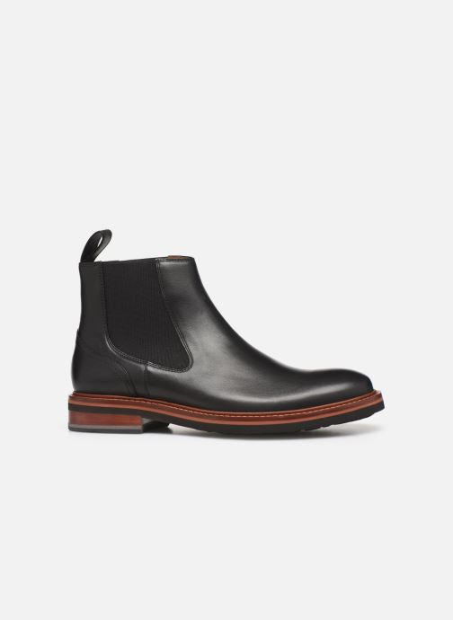 Boots en enkellaarsjes Tommy Hilfiger SMOOTH LEATHER CHELSEA BOOT Zwart achterkant