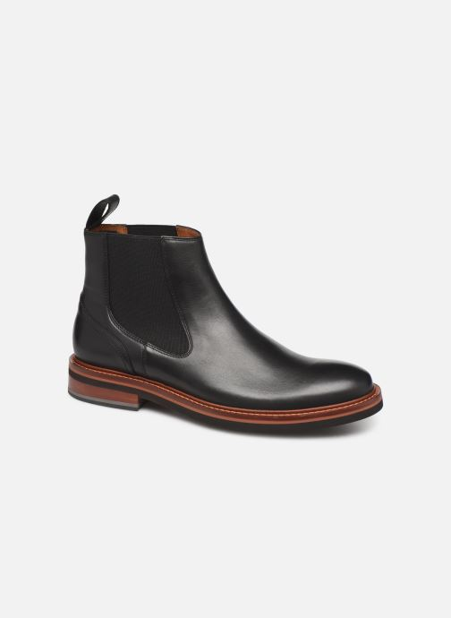 Boots en enkellaarsjes Tommy Hilfiger SMOOTH LEATHER CHELSEA BOOT Zwart detail