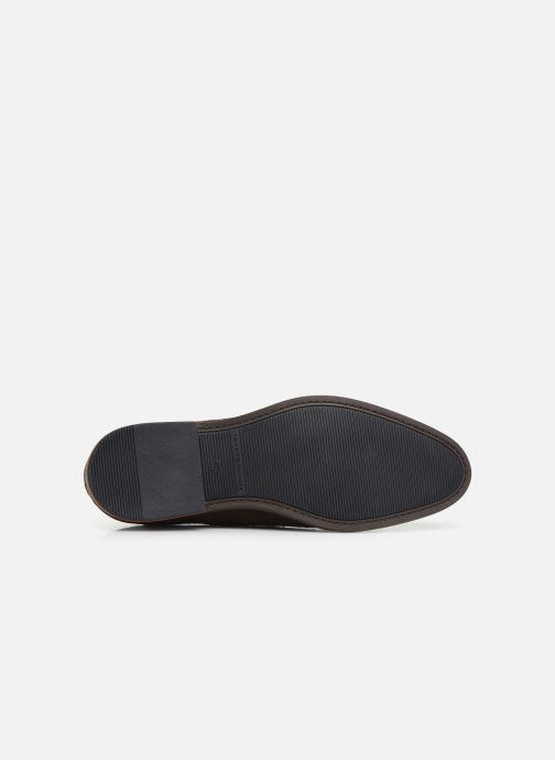 Chaussures à lacets Tommy Hilfiger SIGNATURE HILFIGER SUEDE SHOE Marron vue haut