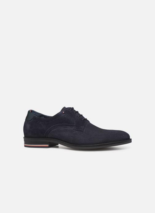 Chaussures à lacets Tommy Hilfiger SIGNATURE HILFIGER SUEDE SHOE Bleu vue derrière