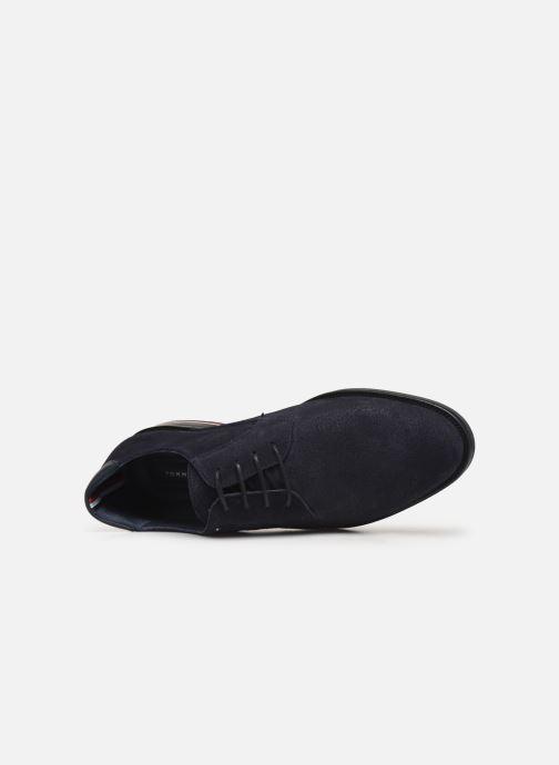 Chaussures à lacets Tommy Hilfiger SIGNATURE HILFIGER SUEDE SHOE Bleu vue gauche