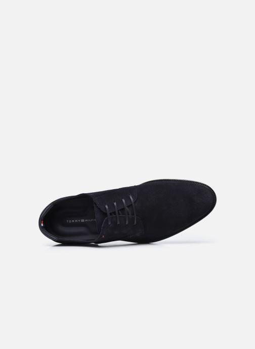 Zapatos con cordones Tommy Hilfiger SIGNATURE HILFIGER SUEDE SHOE Azul vista lateral izquierda