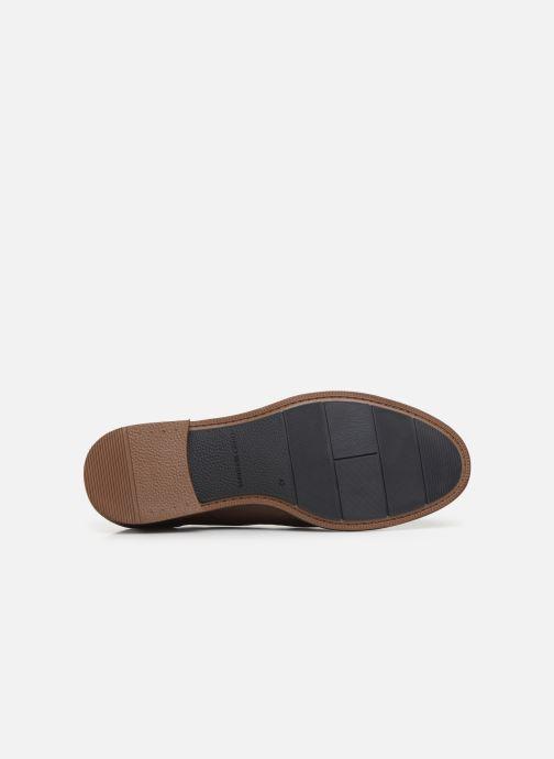 Chaussures à lacets Tommy Hilfiger DRESS CASUAL TOECAP BOOT Marron vue haut