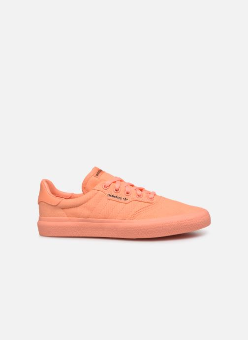 Baskets adidas originals 3Mc W Orange vue derrière