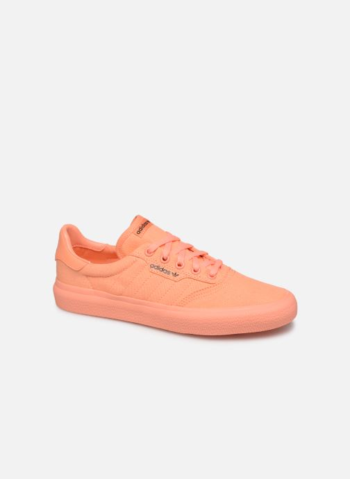 Baskets adidas originals 3Mc W Orange vue détail/paire