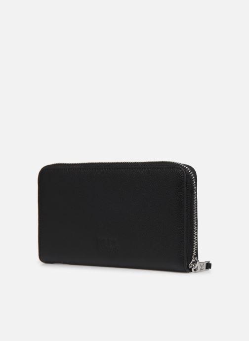 Petite Maroquinerie Karl Lagerfeld RUE SAINT GUILLAUME ZIP WALLET Noir vue droite