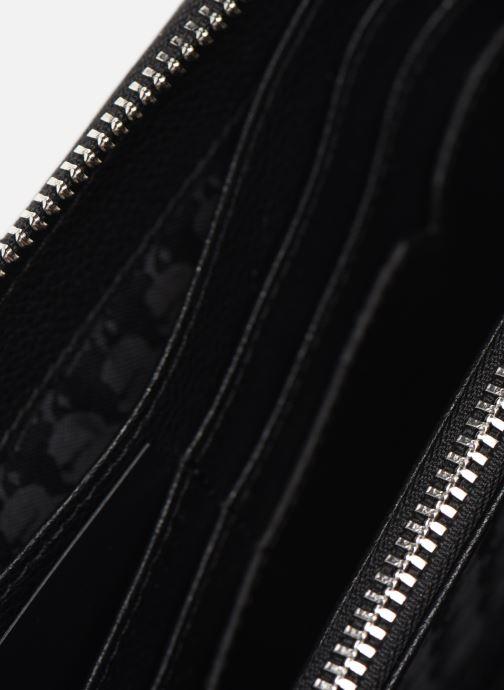 Petite Maroquinerie Karl Lagerfeld RUE SAINT GUILLAUME ZIP WALLET Noir vue derrière
