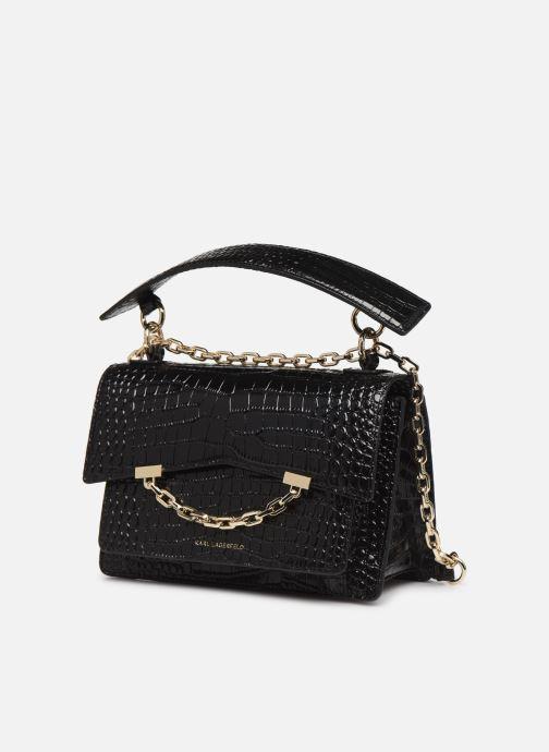 Sacs à main Karl Lagerfeld KARL SEVEN SHOULDER BAG Noir vue portées chaussures
