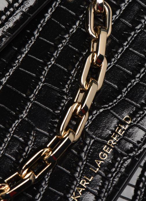 Sacs à main Karl Lagerfeld KARL SEVEN SHOULDER BAG Noir vue gauche