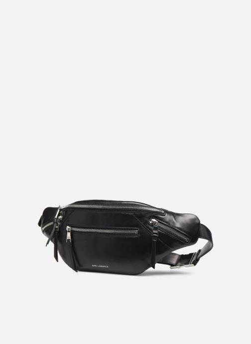 Petite Maroquinerie Karl Lagerfeld K/ODINA BUMBAG Noir vue portées chaussures
