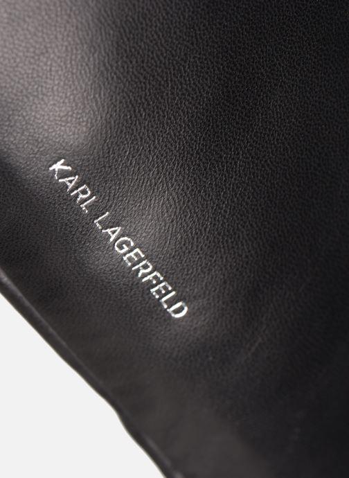 Petite Maroquinerie Karl Lagerfeld K/ODINA BUMBAG Noir vue gauche