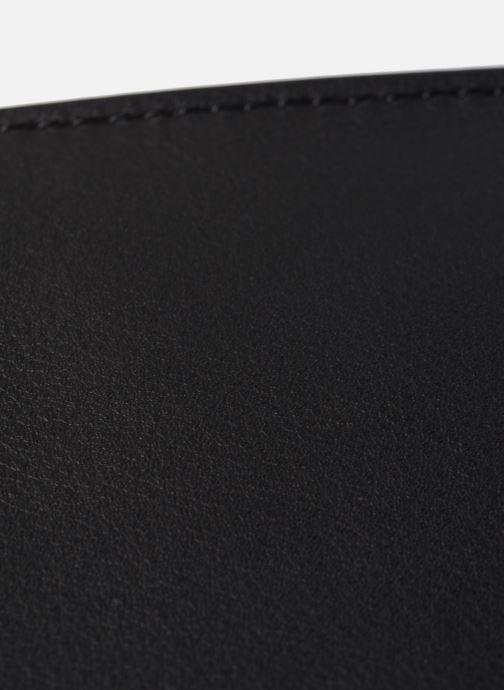 Sacs à main Karl Lagerfeld K/IKON LEOPARD SM TOP HANDLE Noir vue gauche