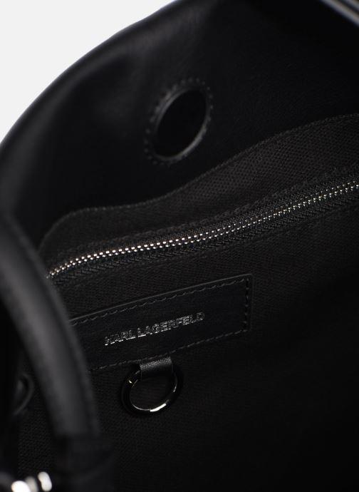 Sacs à main Karl Lagerfeld K/GEO HOBO Noir vue derrière