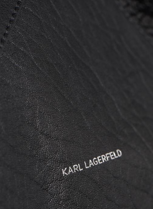 Sacs à main Karl Lagerfeld K/GEO HOBO Noir vue gauche