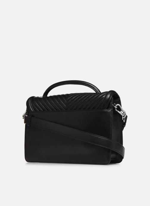 Sacs à main Karl Lagerfeld K/KLASSIC QUILTED SHOULDER BAG Noir vue droite