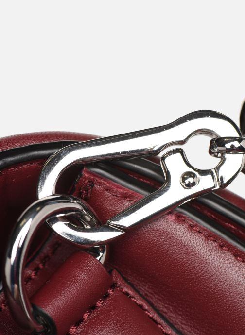 Borse Karl Lagerfeld K/KLASSIC QUILTED SHOULDER BAG Bordò immagine sinistra