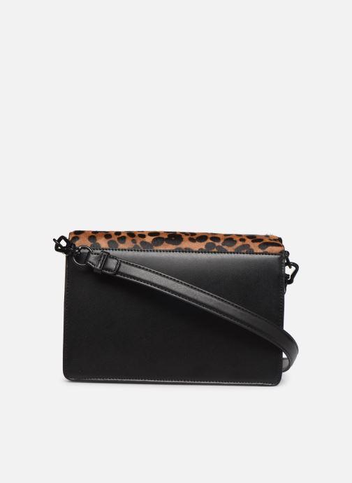 Borse Karl Lagerfeld K/SIGNATURE  SHOULDER BAG Nero immagine frontale