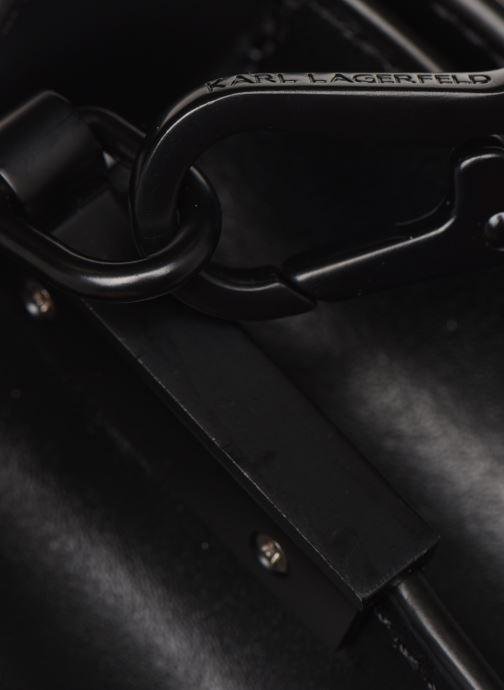 Sacs à main Karl Lagerfeld K/SIGNATURE  SHOULDER BAG Noir vue gauche