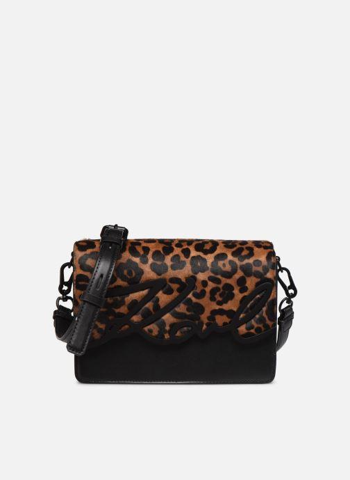 Sacs à main Karl Lagerfeld K/SIGNATURE  SHOULDER BAG Noir vue détail/paire