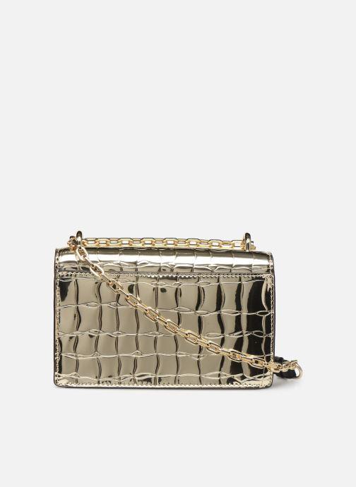 Sacs à main Karl Lagerfeld K/SIGNATURE SMALL SHOULDER BAG Or et bronze vue face