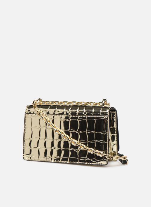 Sacs à main Karl Lagerfeld K/SIGNATURE SMALL SHOULDER BAG Or et bronze vue droite