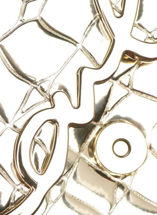 Sacs à main Karl Lagerfeld K/SIGNATURE SMALL SHOULDER BAG Or et bronze vue gauche
