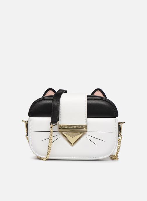Sacs à main Karl Lagerfeld CHOUPETTE MINAUDIERE Blanc vue détail/paire