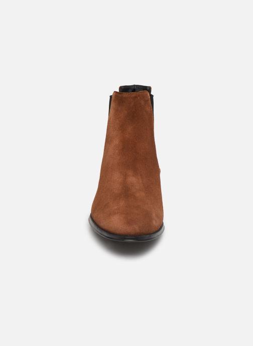Bottines et boots Pretty Ballerinas 47.572 Marron vue portées chaussures