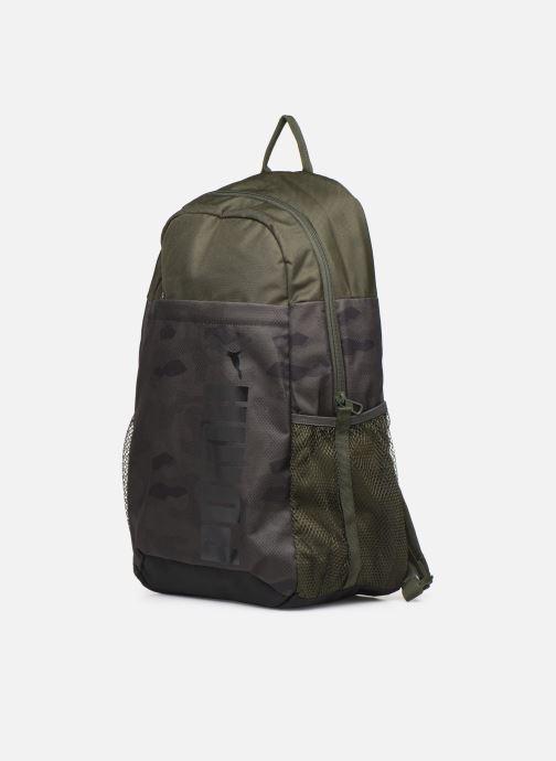 Zaini Puma Style Backpack Verde modello indossato