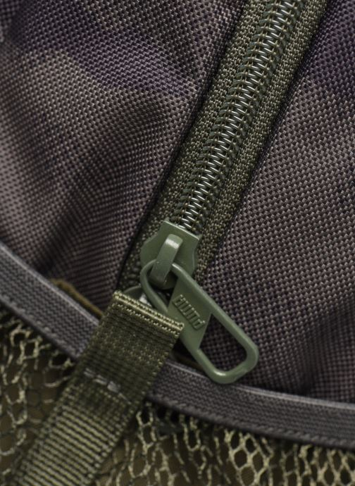 Mochilas Puma Style Backpack Verde vista lateral izquierda