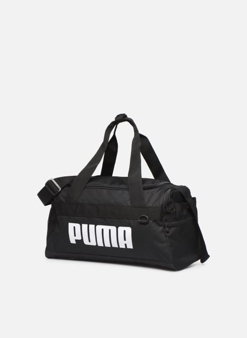 Sporttaschen Puma CHALLENGER DUFFLE BAG XS schwarz schuhe getragen