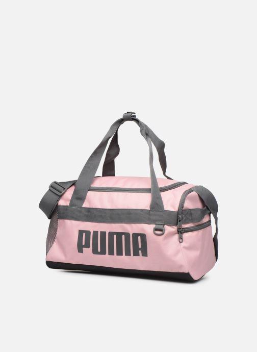 Sportstasker Puma CHALLENGER DUFFLE BAG XS Pink se skoene på