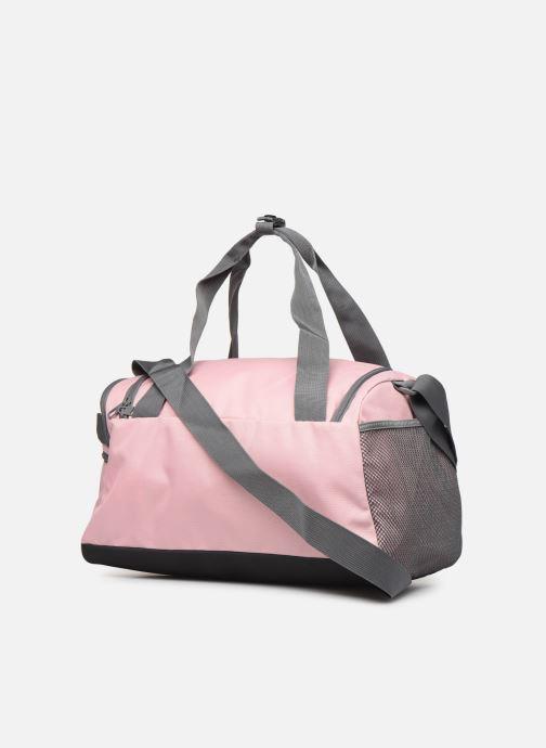 Sporttaschen Puma CHALLENGER DUFFLE BAG XS rosa ansicht von rechts