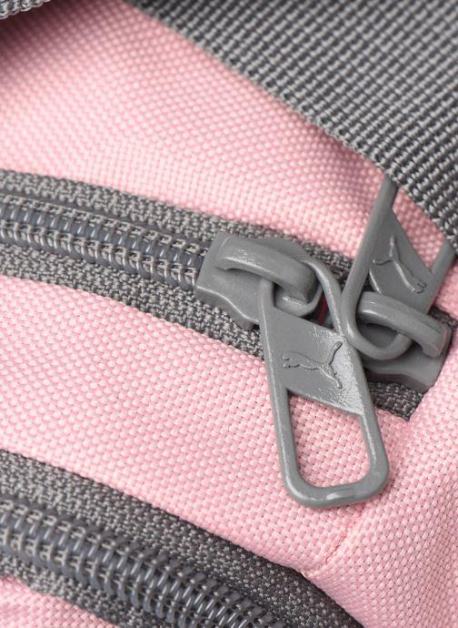 Bolsas de deporte Puma CHALLENGER DUFFLE BAG XS Rosa vista lateral izquierda