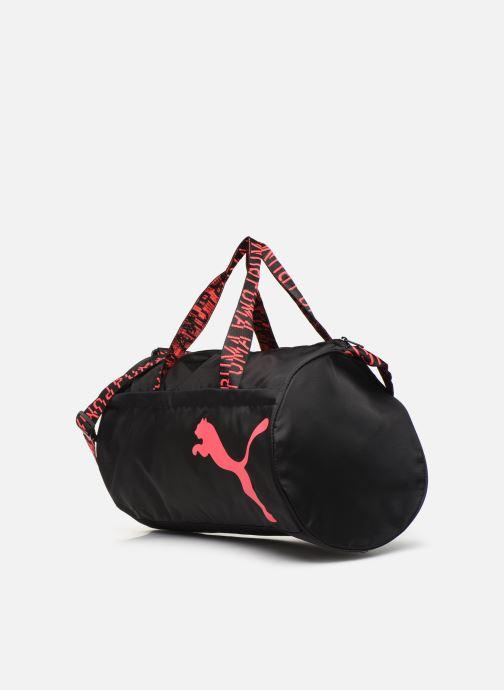Sacs de sport Puma AT ESS BARREL BAG Noir vue portées chaussures
