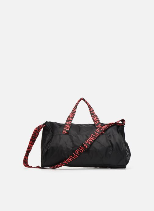 Borsa da palestra Puma AT ESS BARREL BAG Nero immagine frontale
