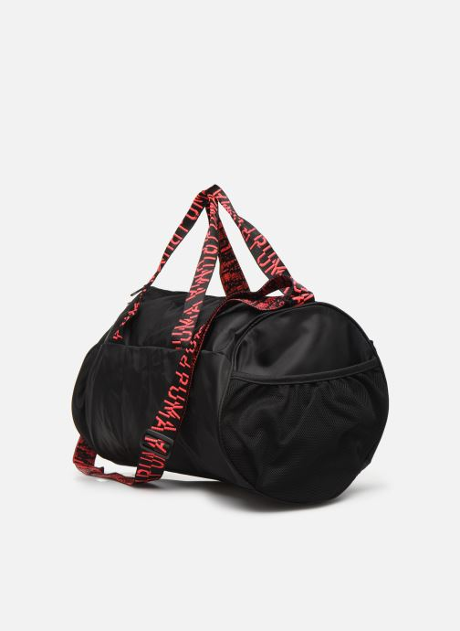 Sports bags Puma AT ESS BARREL BAG Black view from the right