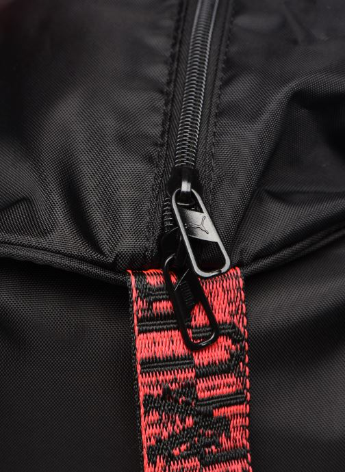 Sports bags Puma AT ESS BARREL BAG Black view from the left