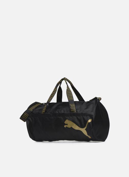 Bolsas de deporte Puma AT ESS BARREL BAG Negro vista del modelo
